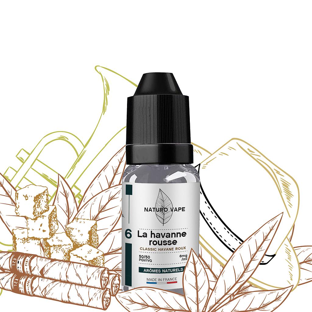 la havanne rousse arôme naturel e-liquide