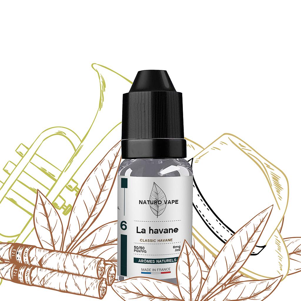 la havane arôme naturel e-liquide