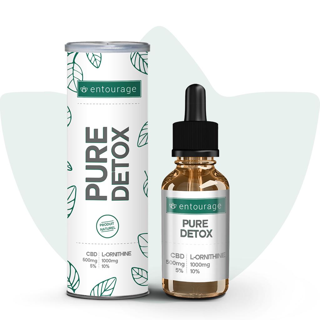 pure detox 5% huile de cbd